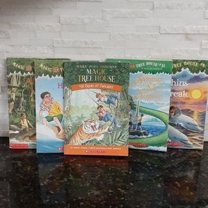 Magic Tree House Books (set of 6)